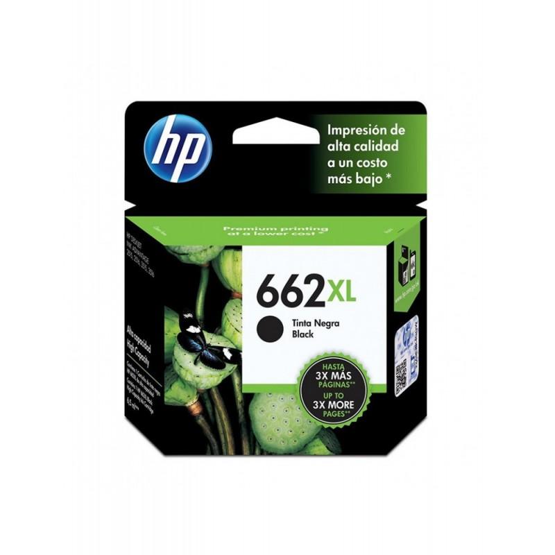 TINTA HP 662 XL NEGRO