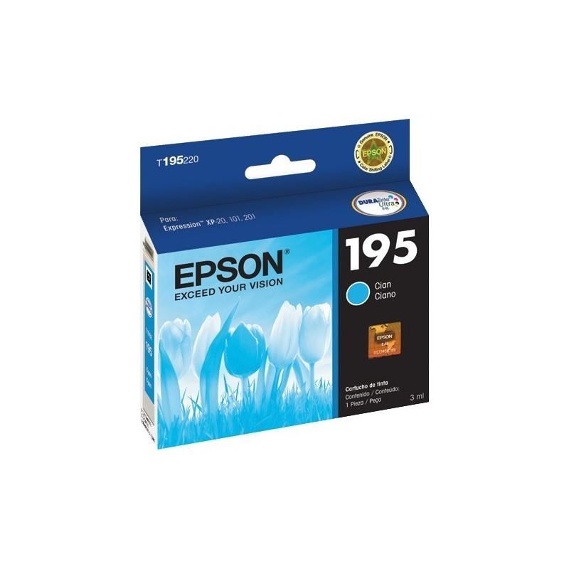 Tinta Epson Cian 195