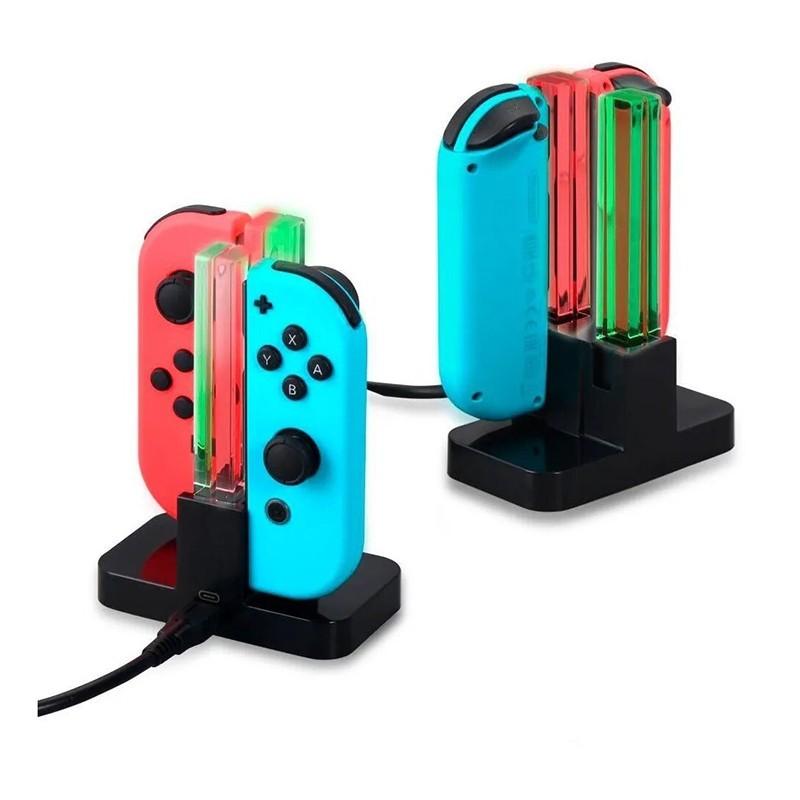 Base Cargador Nintendo Switch 3