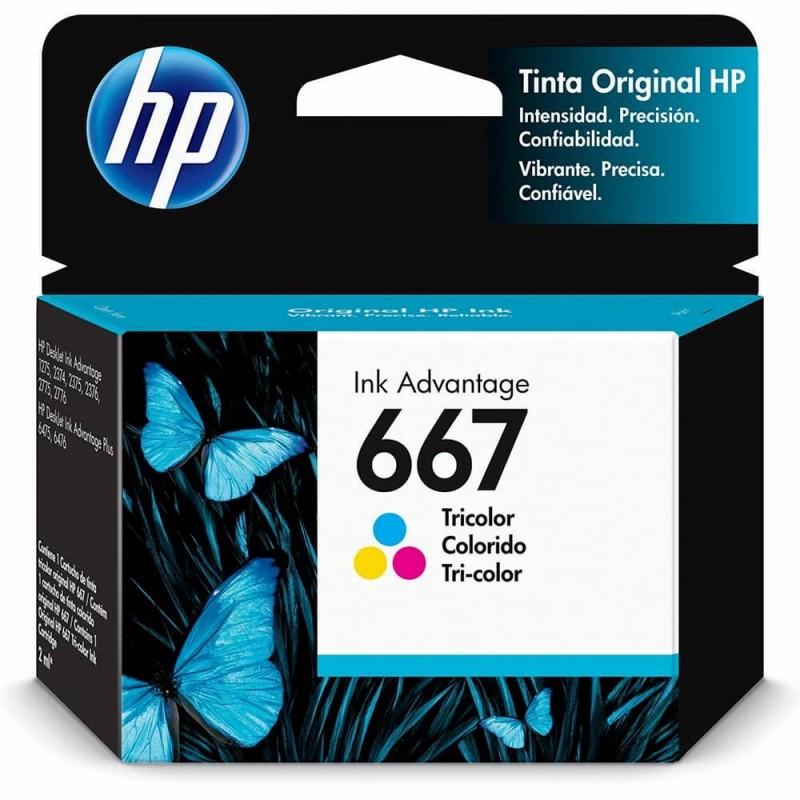 TINTA HP TRICOLOR 667