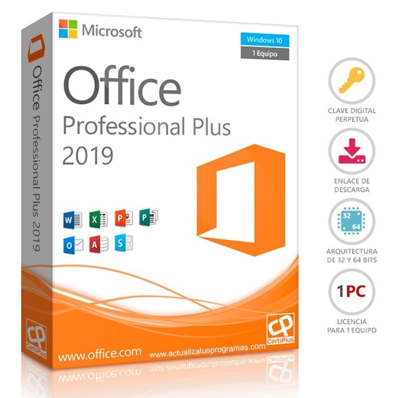 Licencia Digital Office 2019 Pro