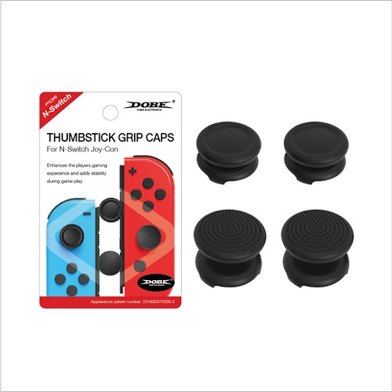 THUMBSTICK GRIP CAPS FOR NINTENDO SWITCH