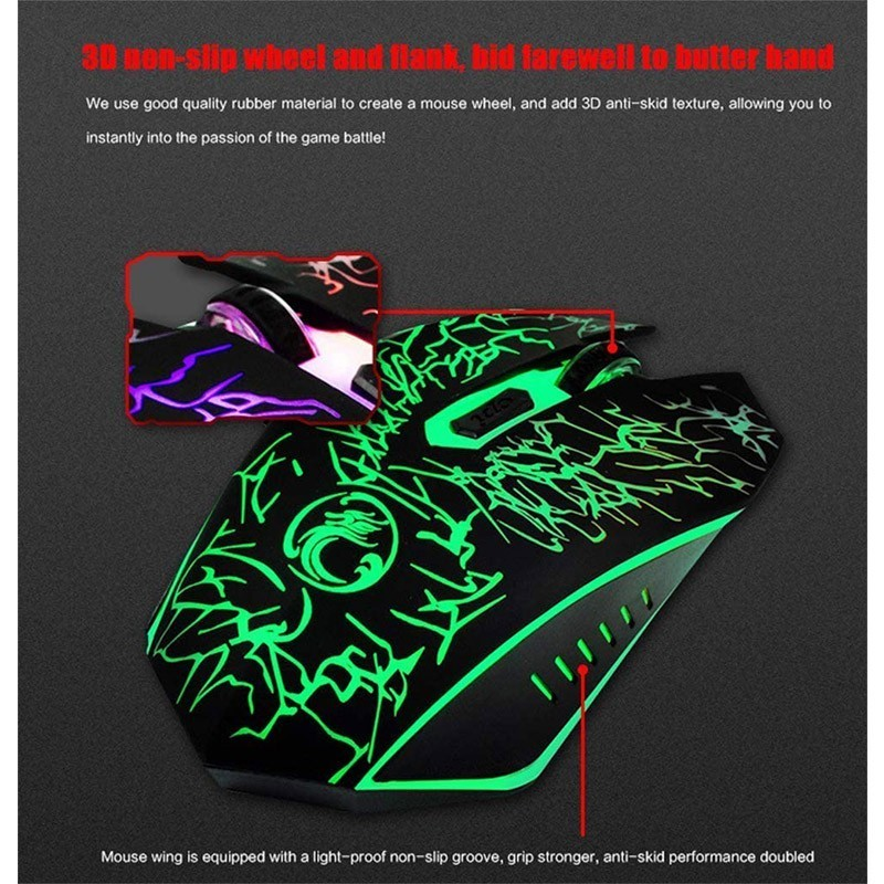 MOUSE IMICE X5 GAMING 2